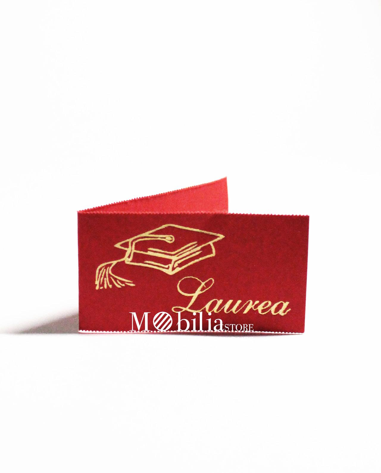 Amato Bigliettini bomboniere laurea con tocco set 10 pz - Mobilia Store  KU71
