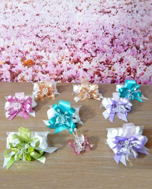 bomboniere farfalle swarovski tufano