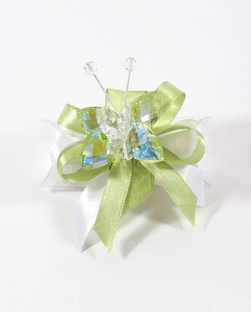 bomboniere tubicino con farfalla cristallo tufano