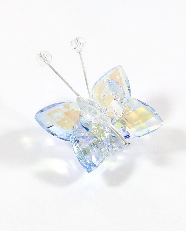 Bomboniere Online Farfalla Swarovski Colorata con Magnete Tufano