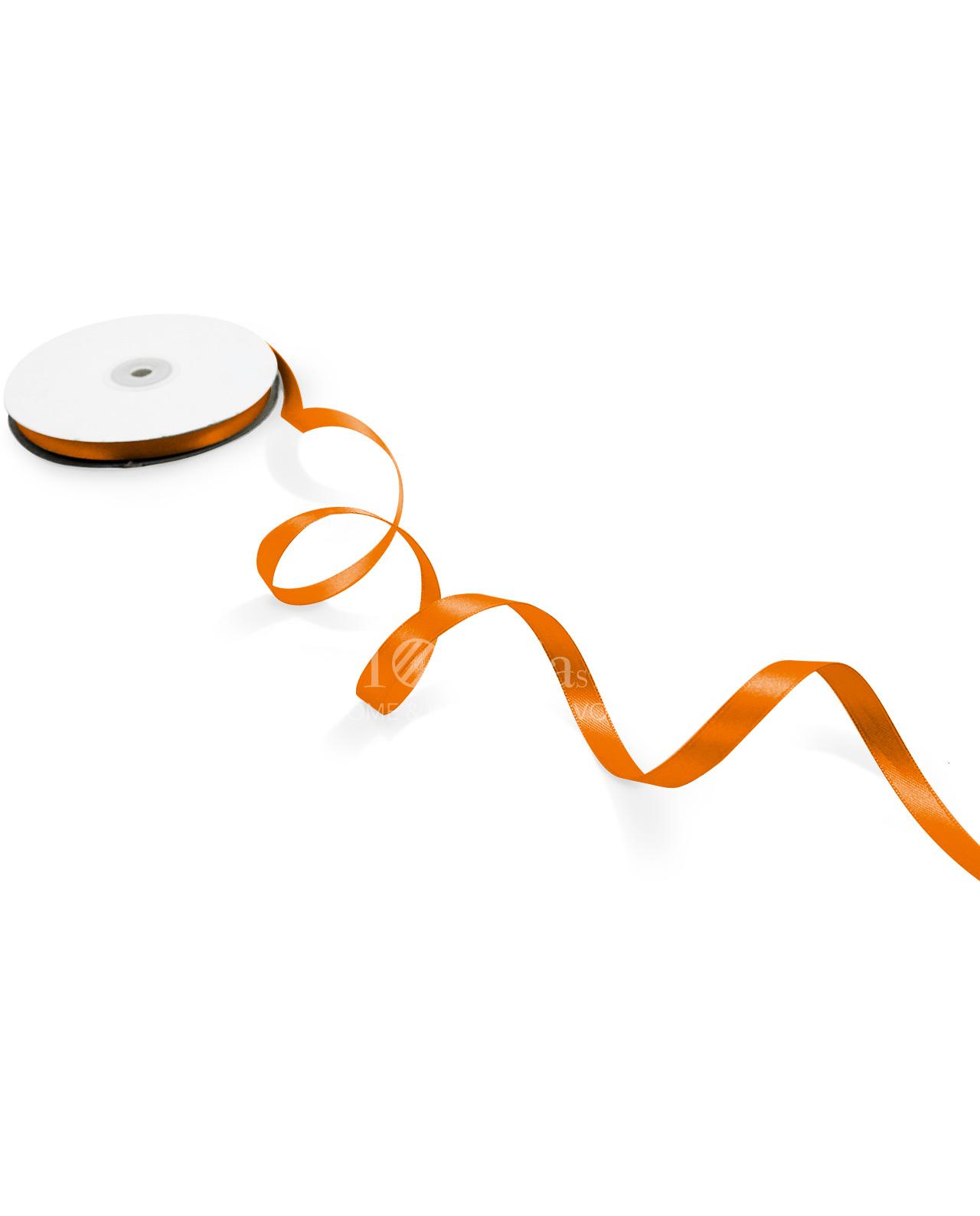 nastro-in doppio raso 1cm-arancio-caldo-13