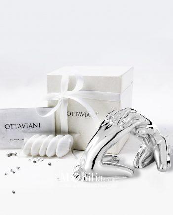 Scultura Fusione Ottaviani confezionata per bomboniera matrimonio