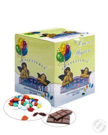 Confetti Colorati Cuori Mignon al cioccolato