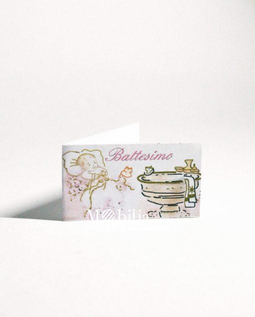 battesimo fonte battesimale rosa