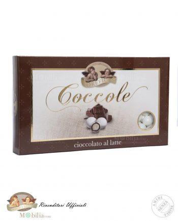 Confetti Ripieni con Biscotto e Cioccolato al Latte