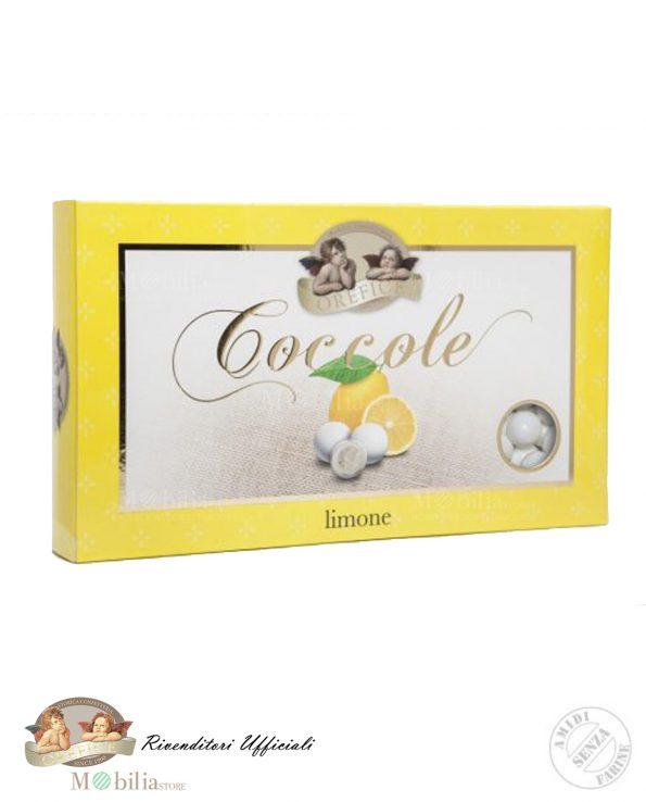 Confetti al Limone con Biscotto e Cioccolato