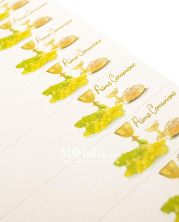 Bigliettini bomboniere Comunione da Stampare o Stampati