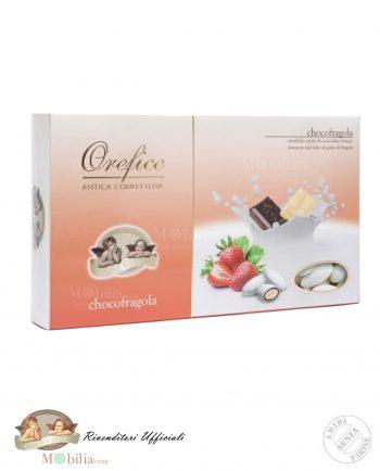 Confetti alla Fragola Ripieni con Doppio Cioccolato