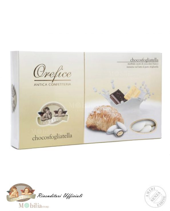 Confetti Ripieni con Doppio Cioccolato al gusto Sfogliatella