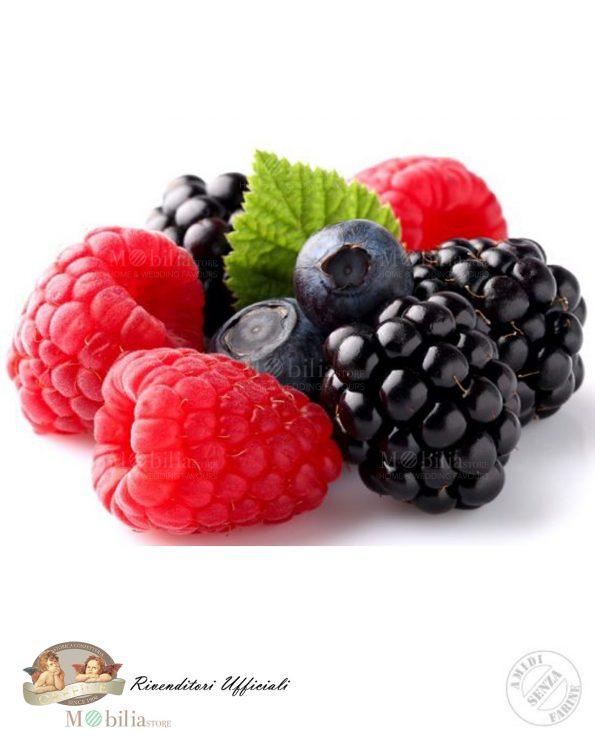 Confetti ripieni Gluten Free Mandorla Cioccolato Frutti di Bosco
