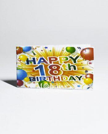Bigliettini bomboniere 18 Anni Multicolor