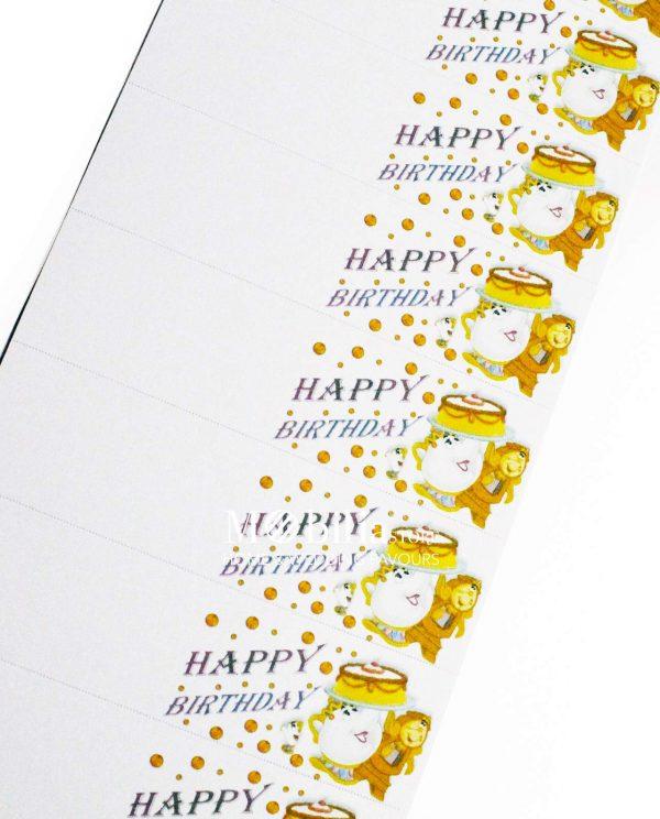 Bigliettini bomboniere Compleanno Walt Disney