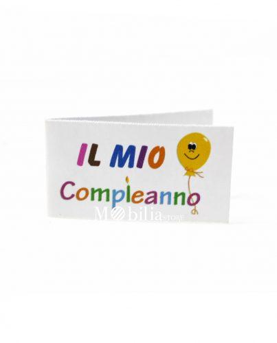 Bigliettini bomboniere Compleanno Palloncino Multicolor