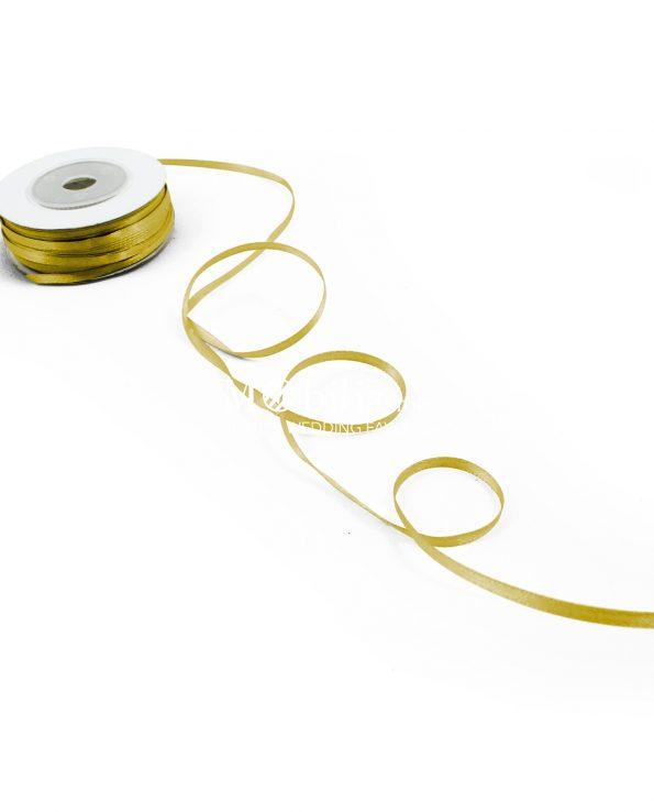 nastro in doppio raso-3mm-oro-25