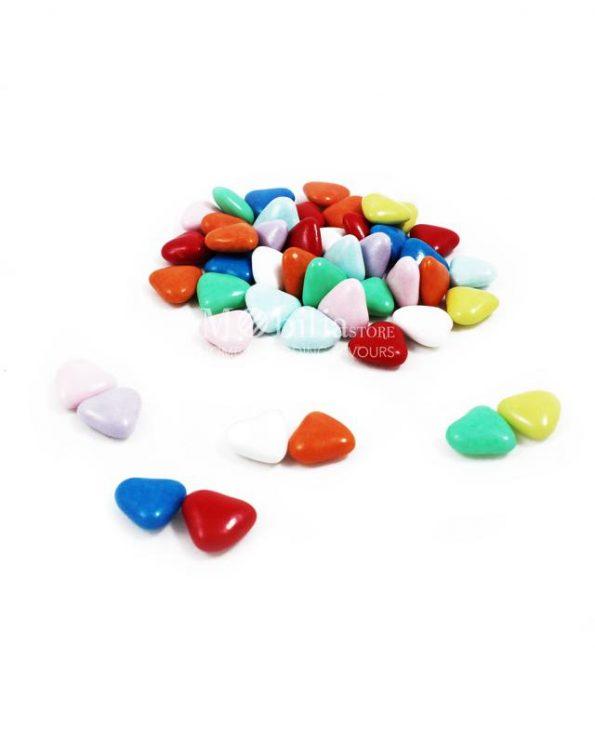 orefice cioccolato cuori multicolor