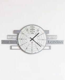 orologio argento jet lag arti e mestieri