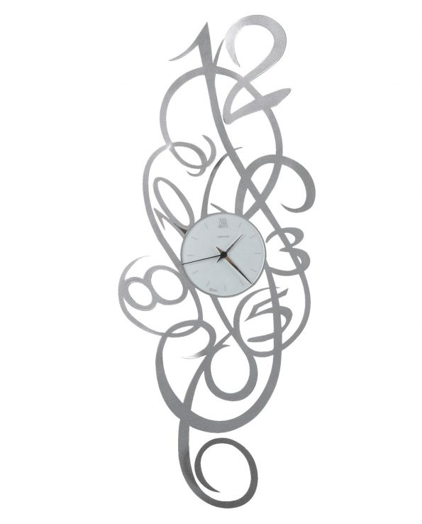 orologio da parete design blondie colore alluminio