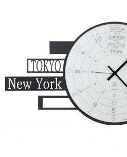 orologio nero arti e mestieri jet lag