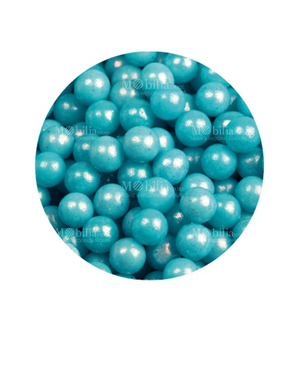 perline azzurre