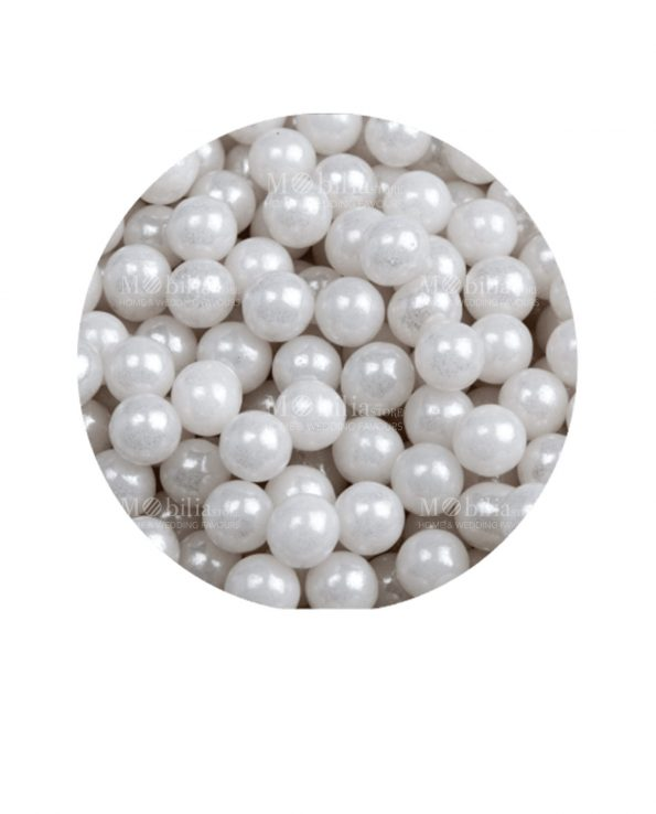 perline bianche