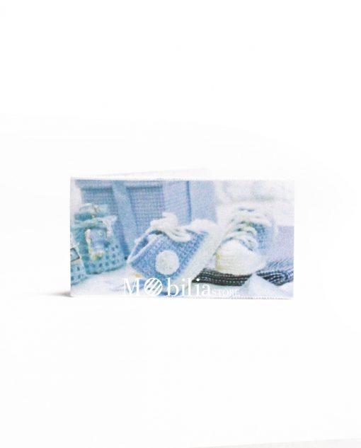 scarpette uncinetto azzurre