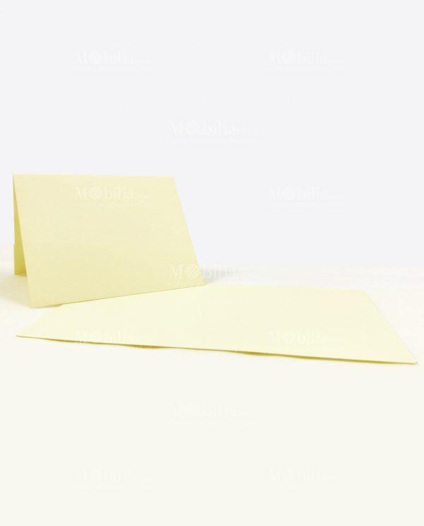 bigliettini segnaposto panna da scrivere