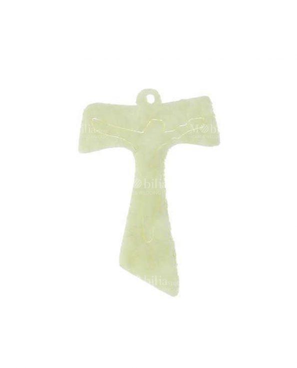 Bomboniere Comunione e Cresima Applicazioni Croce Tau Feltro