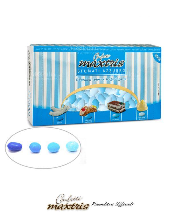 Confetti Maxtris Sfumati azzurri