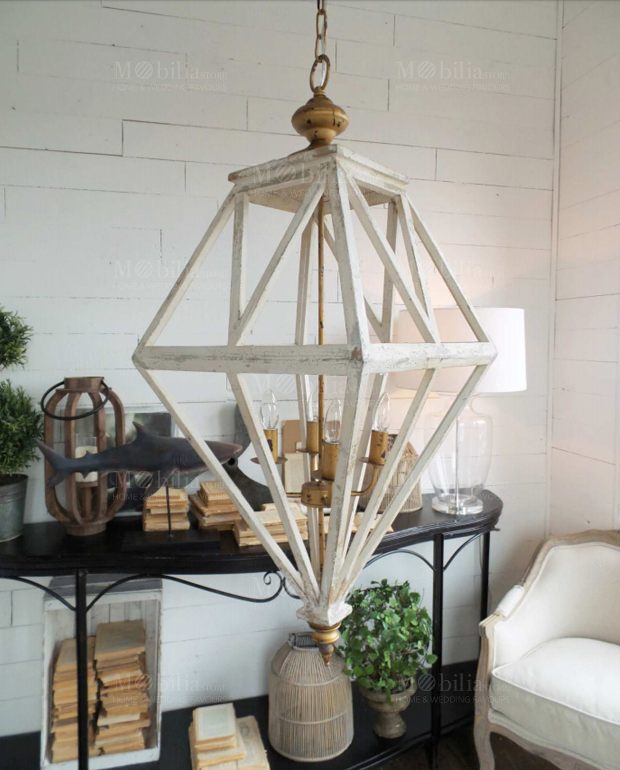 Lampadario design moderno a sospensione in offerta for Lampadario legno moderno