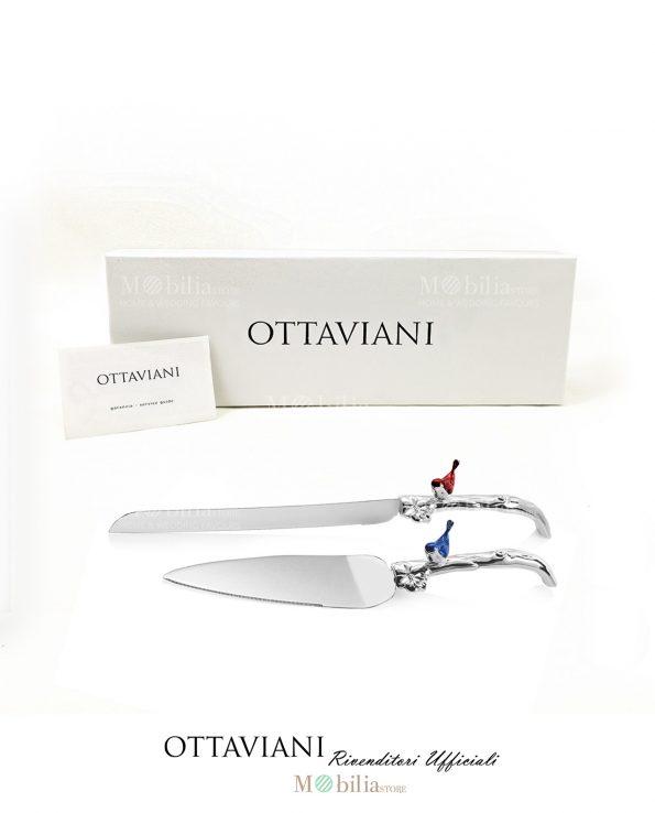 Set Torta Ottaviani Pala Coltello Metallo