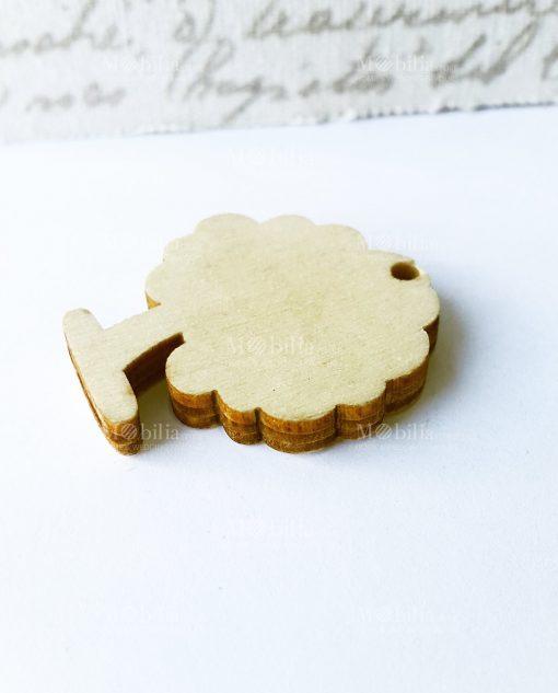 alberello legno retro
