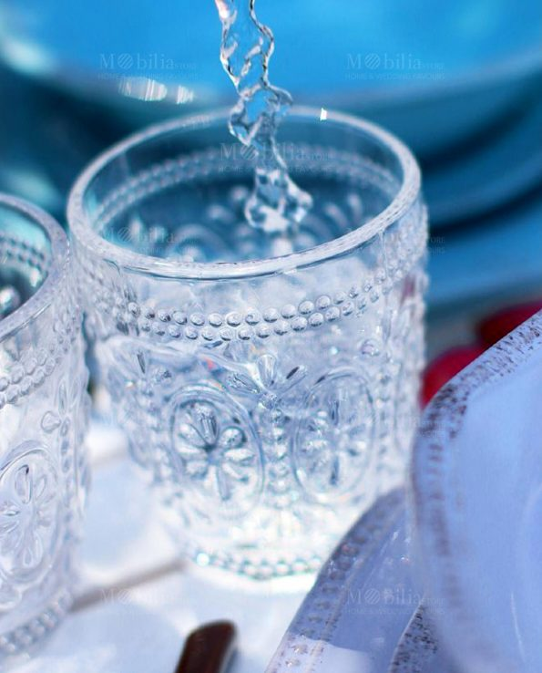 Bicchieri di Vetro Trasparenti