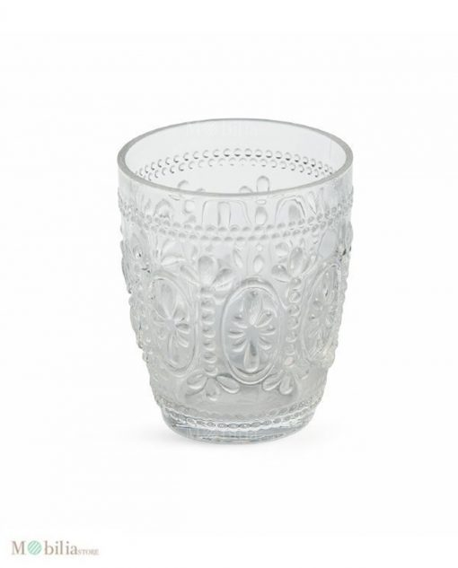 bicchiere trasparente