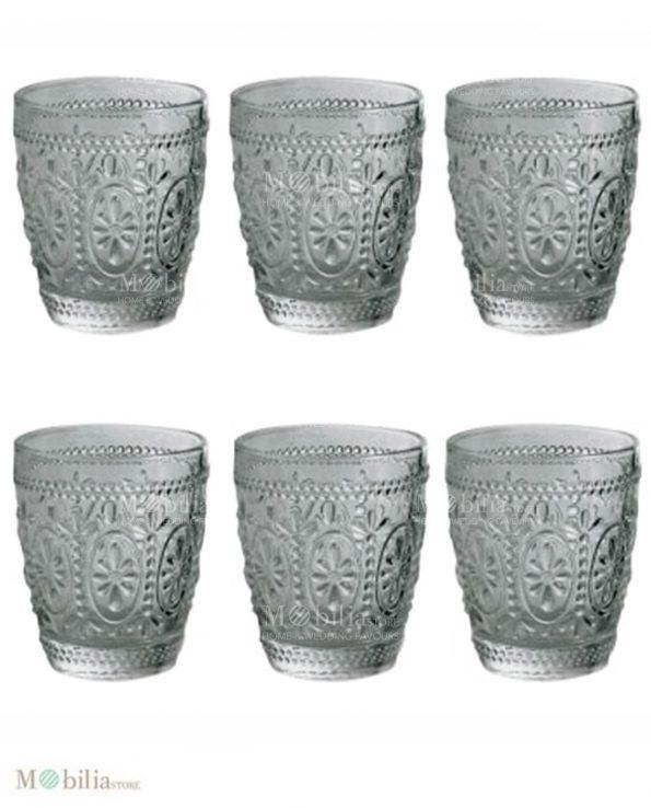 Servizio Bicchieri di Vetro