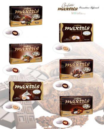 Confetti ripieni cioccolato Maxtris