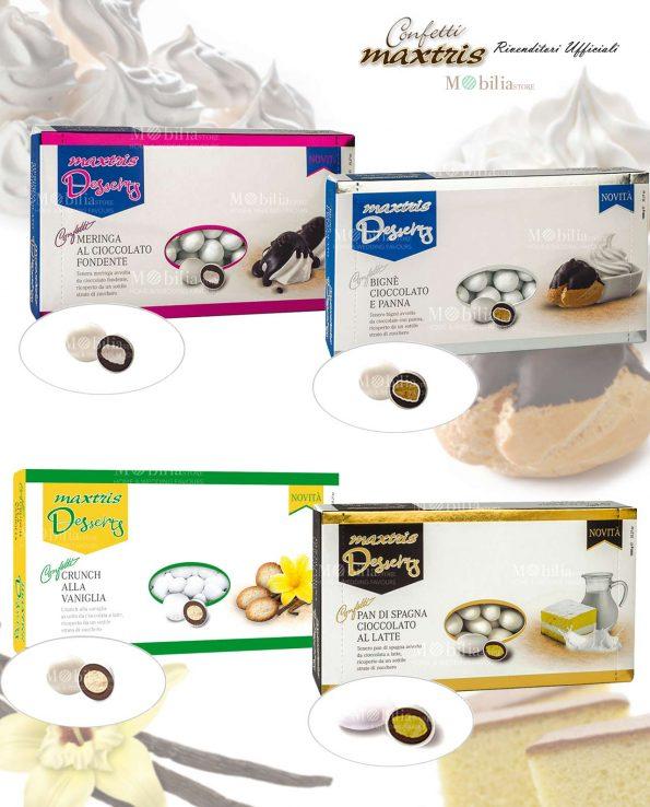 Confetti dessert biscotto