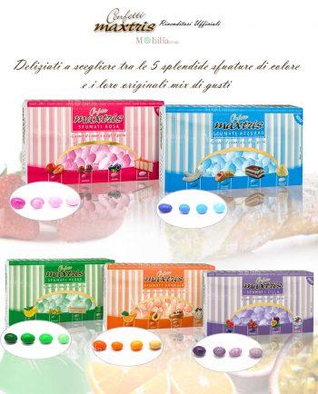 Confetti sfumati vari gusti e colori Maxtris