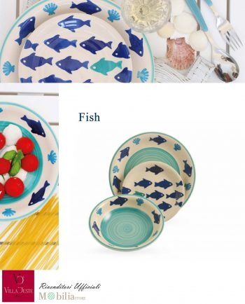 Set Piatti Fish Villa d'Este