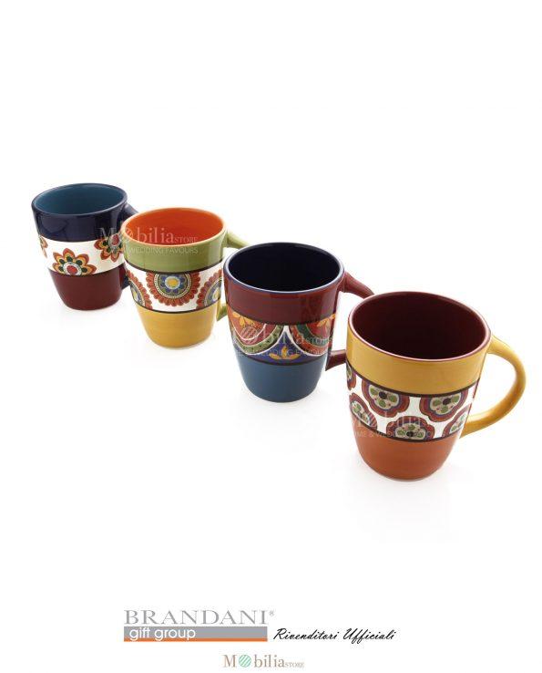 Mug 4 pezzi Brandani