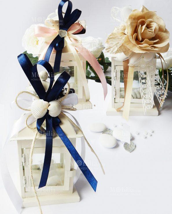 Lanterna Romantica Shabby Chic Bomboniera