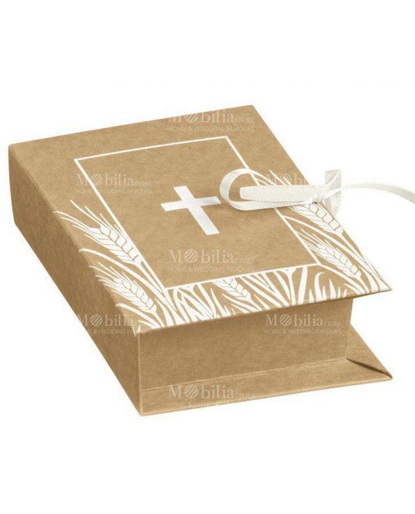 Scatoline Portaconfetti Libro Comunione e Cresima