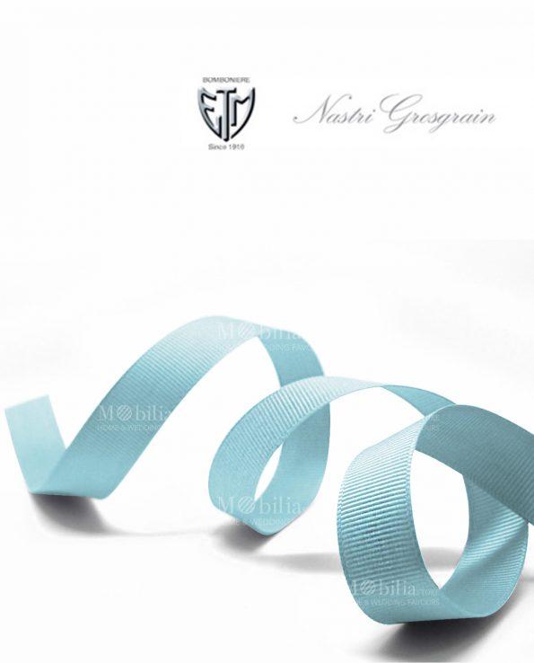 nastro grosgrain 1 cm azzurro
