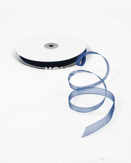 organza 10mm blu 14