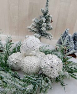 palline di natale color argento