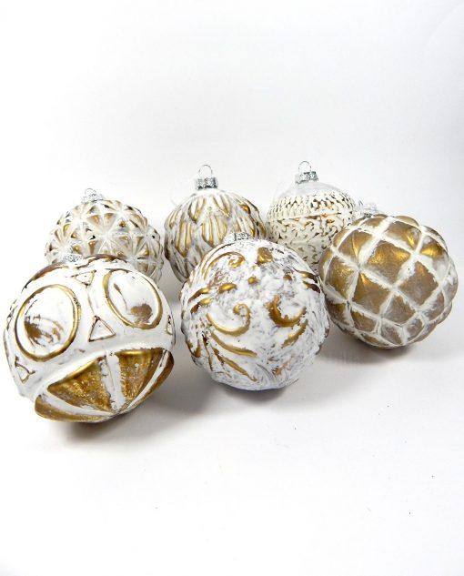 palline natalizie oro
