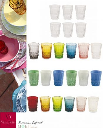 Bicchieri Nobilis Villa d'Este