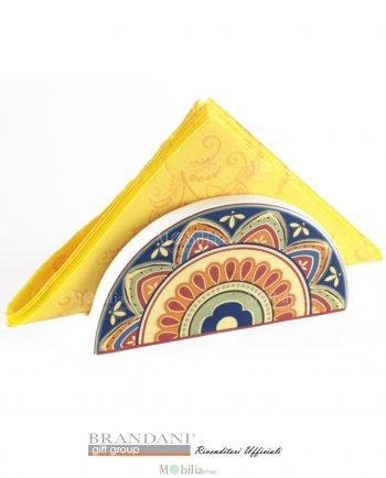 Portatovaglioli ceramica Brandani