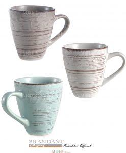 Set Mug Stoneware Brandani