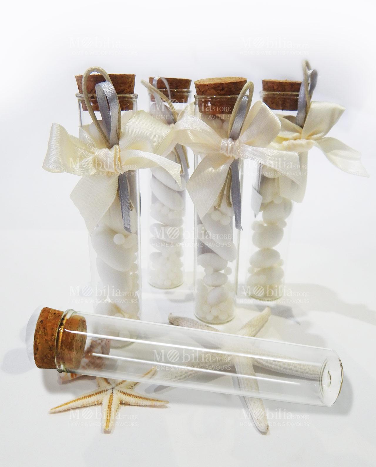 Matrimonio Country Chic Bomboniere : Stunning bomboniere tubo vetro shabby chic with