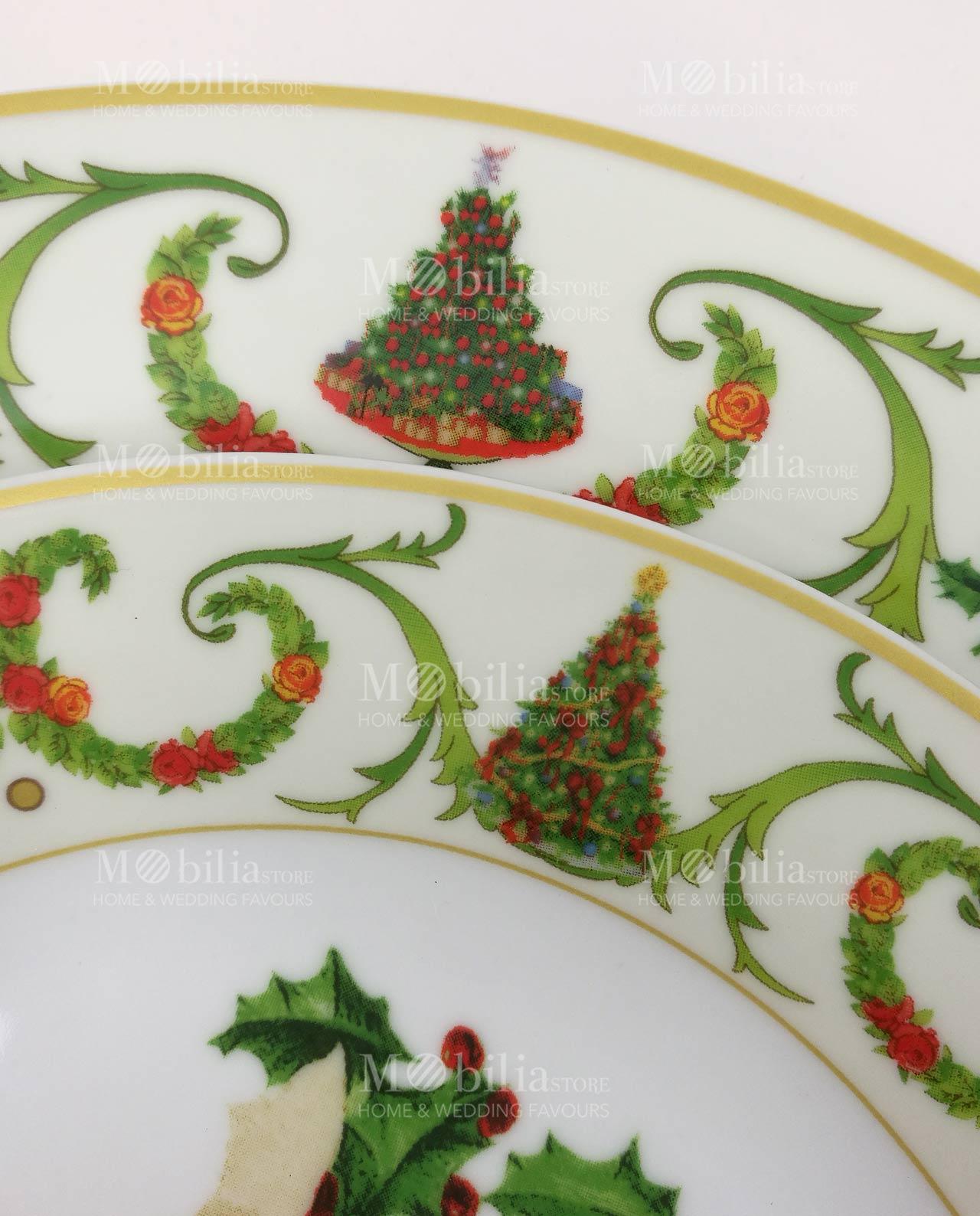 Servizio piatti white con albero mobilia store home - Servizio piatti design ...